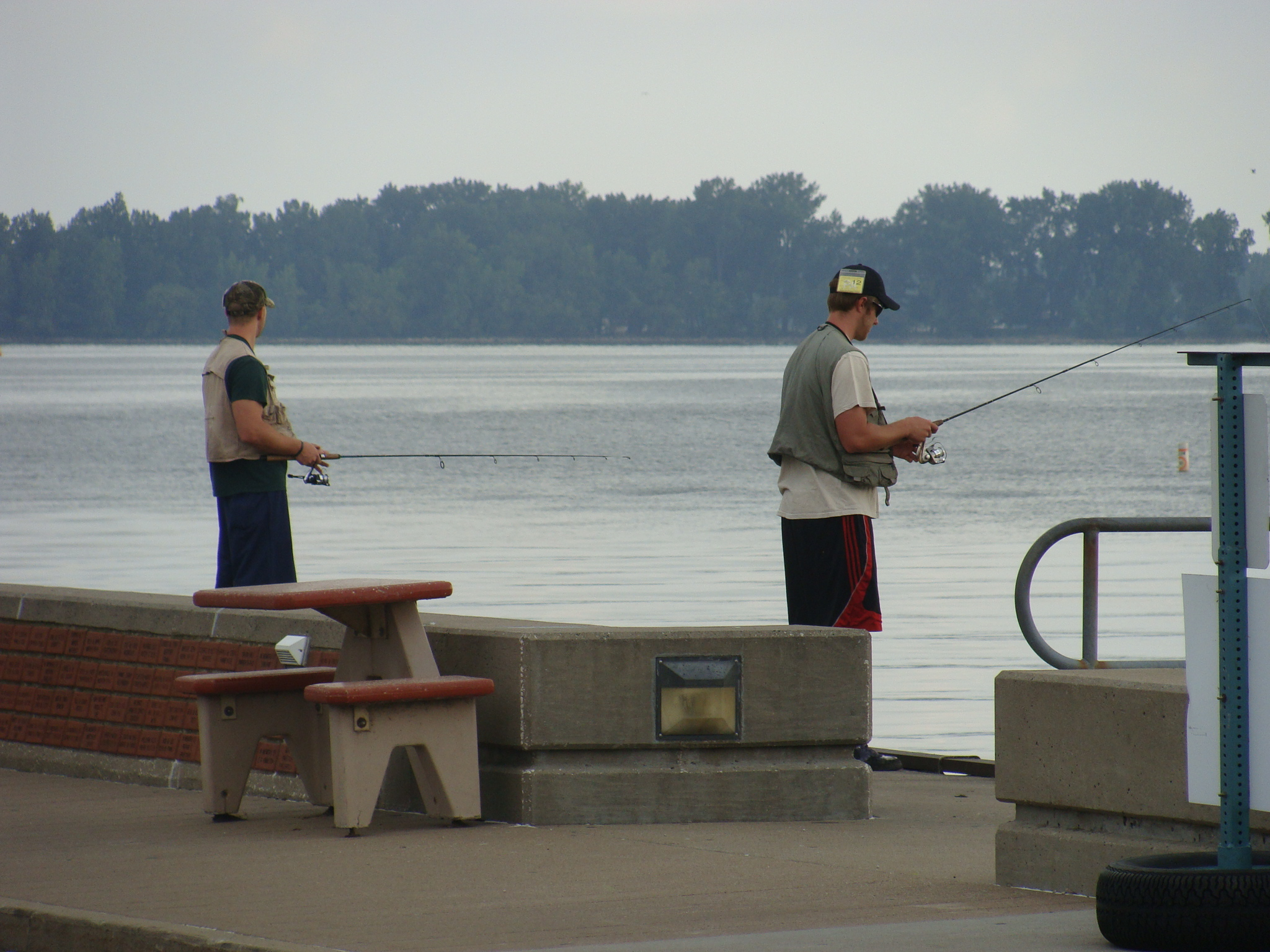 August 15 dog walking contemplations in erie pa for Fishing lakes in pa
